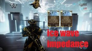 FROST (ice wave impedance augment mod) Warframe
