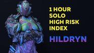 Warframe 1 Hour Solo High Risk Index Hildryn (John Prodman) 2020-0