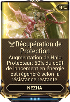 Récupération de Protection