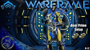 Warframe Boar Prime Setup Discussions (Update L7)