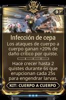 Infección de cepa