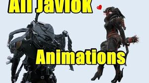 Warframe ALL Javlok Animations! (For SpearGun Weapons)