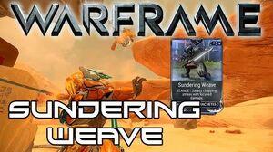 Warframe Stance Showcase Sundering Weave