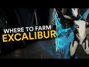 Where to farm Excalibur! (Warframe)