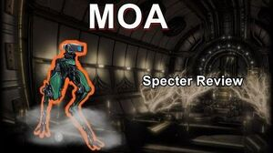 MOA - Warframe Specter Review