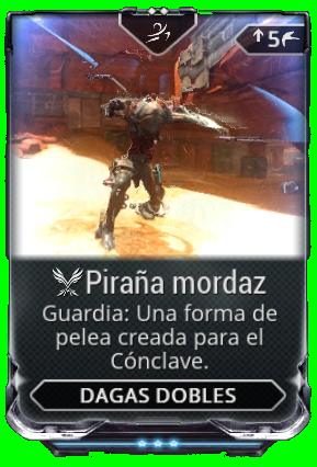 Piraña mordaz
