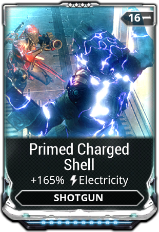 Primed Charged Shell