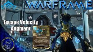 Warframe Nova's Escape Velocity Augment Mod Review