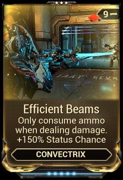 Efficient Beams