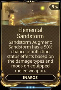 Elemental Sandstorm