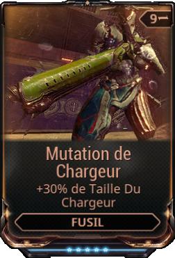 Mutation de Chargeur