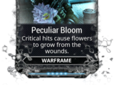 Peculiar Bloom