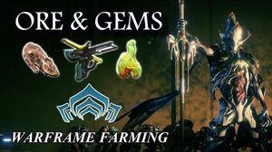 Warframe Farming - Eidolon Mining (Gems & Ore)