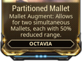 Partitioned Mallet