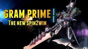 Warframe ENDGAME GRAM PRIME THE NEW SPIN2WIN