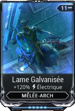 Lame Galvanisée