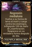 Regresión medialuna