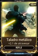 Taladro metálico