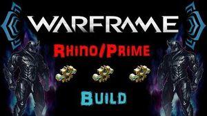 U18 Warframe - Rhino Prime - Awesome Rework Tank N00blShowtek