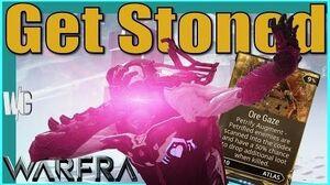 ORE GAZE AUGMENT MOD - Atlas the Stoner Warframe