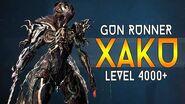 WARFRAME Gun Runner XAKU vs Level 4000 Steel Path - Hard Mode Survival 24 Million Damage!