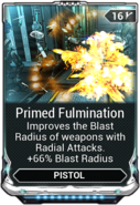 Primed Fulmination