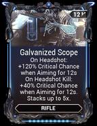 Galvanized Scope