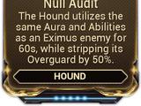 Null Audit