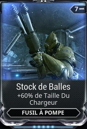 Stock de Balles