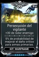 Persecución del vigilante