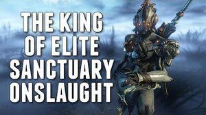 Warframe BARUUK THE KING OF ELITE SANCTUARY ONSLAUGHT!