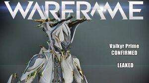 Warframe Valkyr Prime - Venka Prime- Cernos Prime (Leaked In Game) SPOILERS