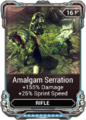 Amalgam Serration