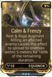 Calm & Frenzy