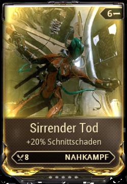 Sirrender Tod