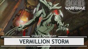 Warframe Stances Vermillion Storm stancespotlight