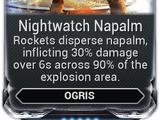 Nightwatch Napalm