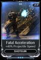 Fatal Acceleration