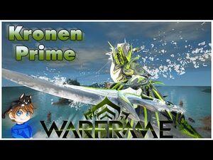 Kronen Prime Build 2021 (Guide) - The Ripto-Slicer - Warframe