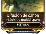 Difusión de cañón