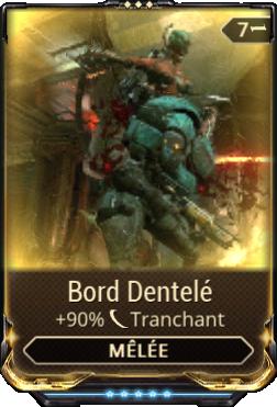 Bord Dentelé