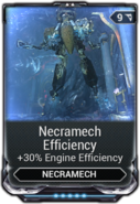 Necramech Efficiency