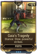 Gaia's Tragedy