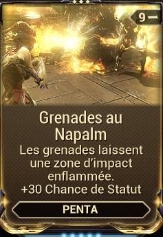 Grenades au Napalm