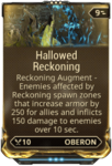 Hallowed Reckoning