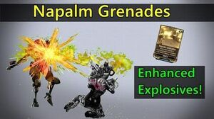 Napalm Grenades - Quick Demonstration AND Builds Vs Major Factions!