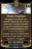 Strain Eruption