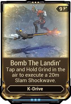 Bomb The Landin'