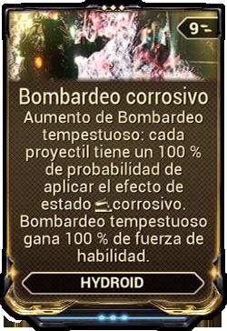 Bombardeo corrosivo
