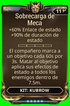 Sobrecarga de Meca